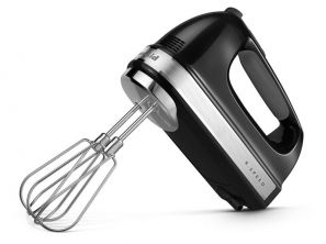 Kitchen Aid 9 Speed Hand Mixer Black