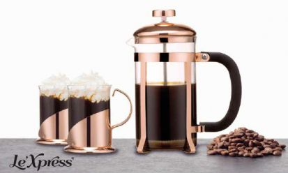 Kitchen Craft LX Cafetierre Copper Set