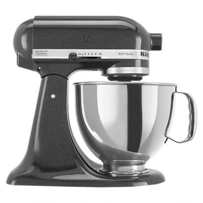 KitchenAid Artisan KSM150 Stand Mixer Black Caviar