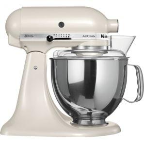 KitchenAid Artisan KSM150 Stand Mixer - Cafe Latte