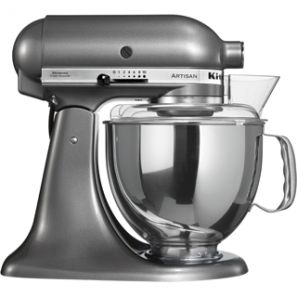 KitchenAid Artisan KSM150 Stand Mixer - Medallion Silver