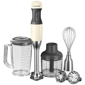 KitchenAid Corded Hand Blender Almond Cream