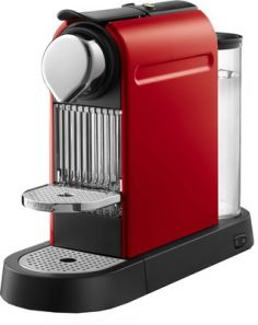 Krups Citiz Nespresso Coffee Maker - Red