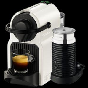 krups inissia nespresso bundle white coffee machine u0026 aeroccino