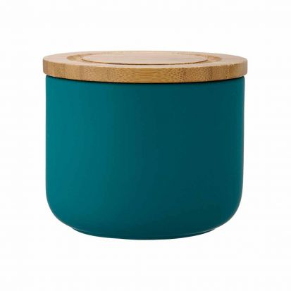 Ladelle Stak Soft Matt Teal 9cm Cannister