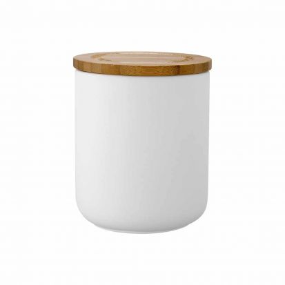 Ladelle Stak Soft Matt White 13cm Cannister
