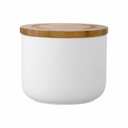 Ladelle Stak Soft Matt White 9cm Cannister