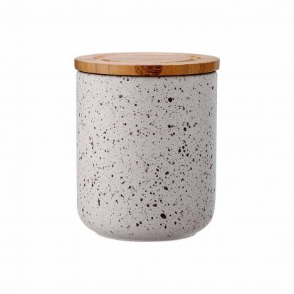 Ladelle Stak Stone Speckled 13cm Cannister
