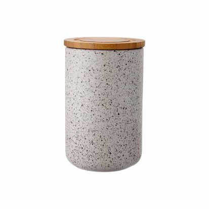 Ladelle Stak Stone Speckled 17cm Cannister