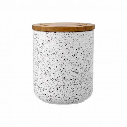 Ladelle Stak White Speckled 13cm Cannister