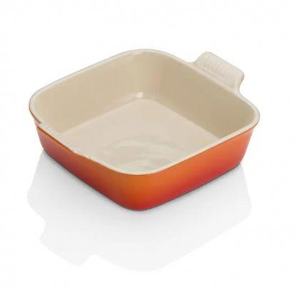 Le Creuset 23cm Square Dish - Volcanic