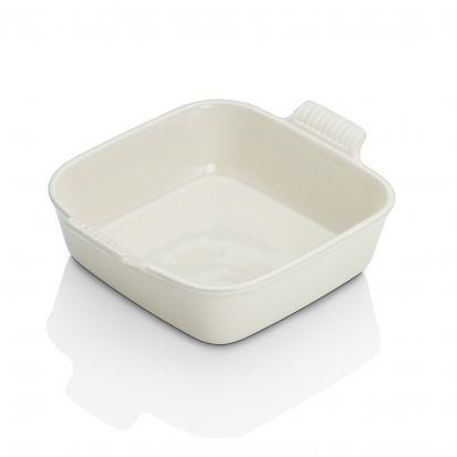 Le Creuset 23cm Stoneware 23cm Square Dish - Almond