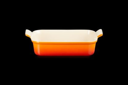 Le Creuset 26cm Deep Rectangle Dish - Volcanic