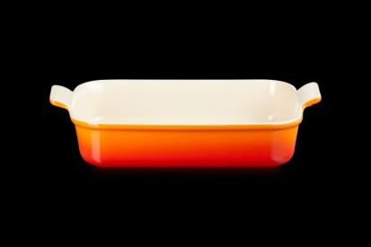 Le Creuset 32cm Deep Rectangle Dish - Volcanic