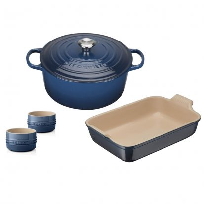 Le Creuset 4 Piece Starter Set - Ink