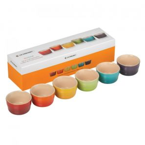Le Creuset Set of 6 Mini Ramekins