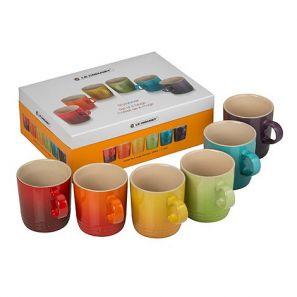 Le Creuset Set of 6 Mugs