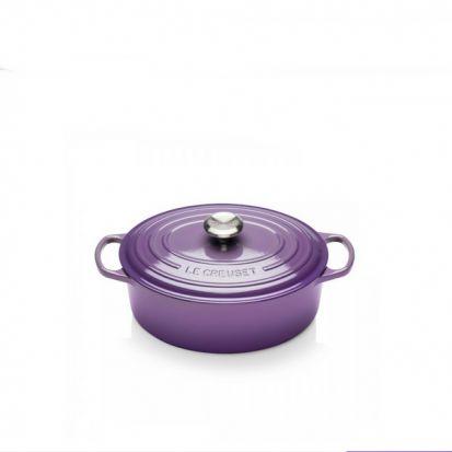 Le Creuset Signature 29cm Oval Casserole - Ultra Violet