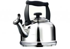 Le Creuset Stainless Steel Whistling Traditional Kettle
