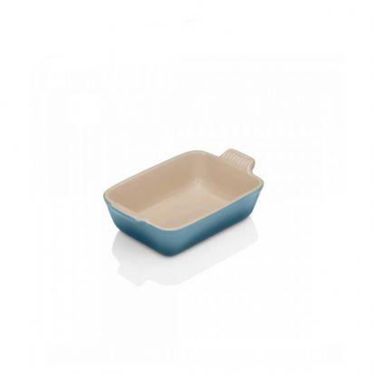 Le Creuset Stoneware 19cm Deep Rectangular Dish - Marine