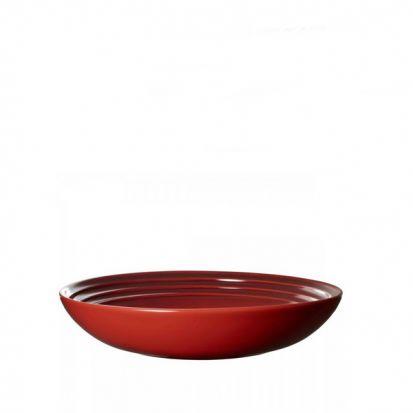 Le Creuset Stoneware 22cm Pasta Bowl - Cerise