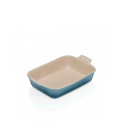 Le Creuset Stoneware 26cm Deep Rectangular Dish - Marine