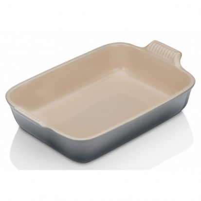 Le Creuset Stoneware 32cm Deep Rectangular Dish - Flint
