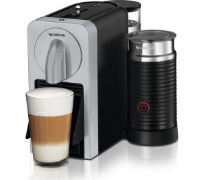 Magimix Prodigio Nespresso Coffee Machine Silver with Aeroccino