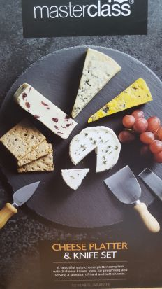Masterclass Cheese Platter & Knife Set