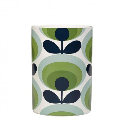 Orla Kiely 70s Oval Flower Utensil Pot