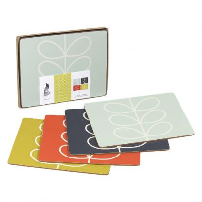 Orla Kiely Linear Stem Placemats - Set of 4
