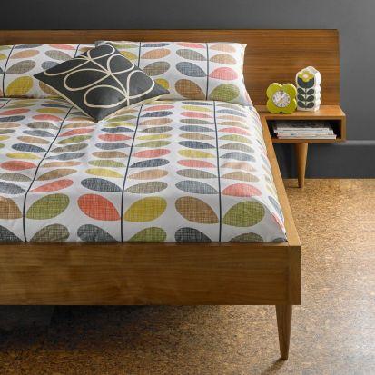 Orla Kiely Scribble Stem Housewife Pillowcase Pair Multi
