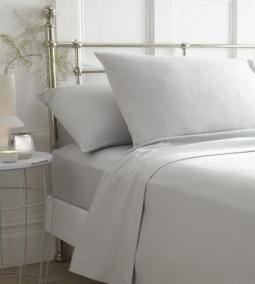Portfolio Brushed Cotton Sheet Sets Grey - King