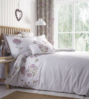 Portfolio Secret Garden Lavender Duvet Cover Set - Single