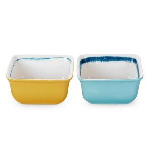 Portmeirion Coast 4 Inch Square Dip Bowls