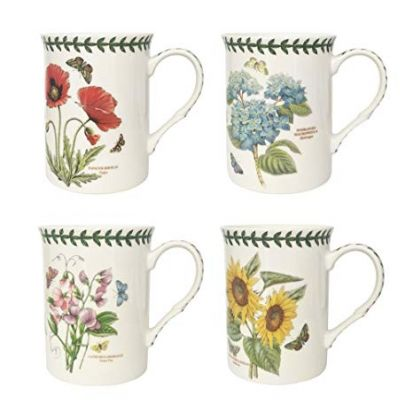 Portmeirion Set of 4 Mugs - Botanic Garden