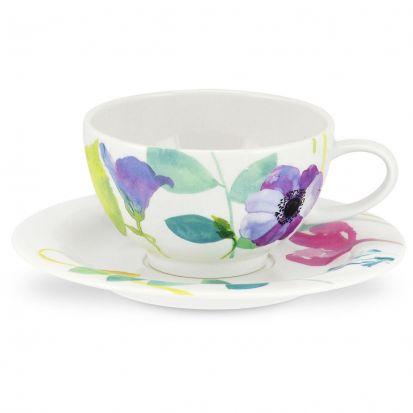 Portmeirion Water Garden Teacup & Saucer