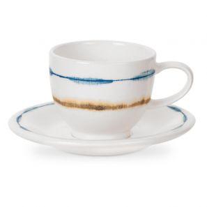 Portmerion Coast Espresso Cup & Saucer