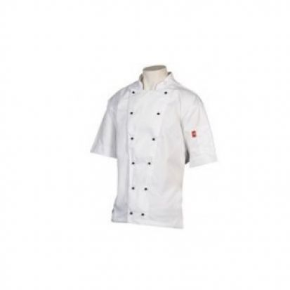 Pressure Cookin' Classic Short Sleeve Chefs Jacket Small