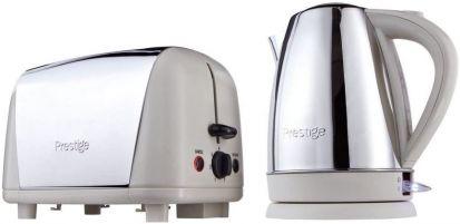 Prestige Create Kettle & Toaster Set - Cream