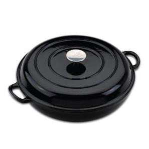 Provencale 30cm Shallow Casserole - Black