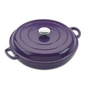 Provencale 30cm Shallow Casserole - Purple