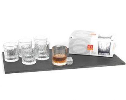 RCR Fire Set of 6 Whiskey Glasses