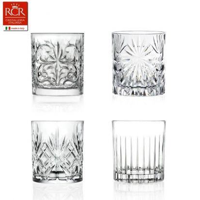 RCR Mixology Cocktail Art Set of 4 Tumblers