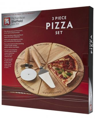 Richardson Sheffield 3 Piece Pizza Board Set
