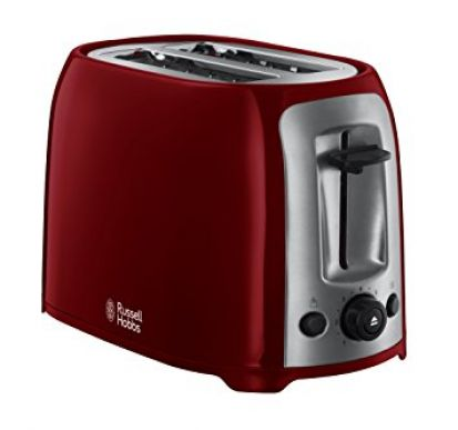 Russell Hobbs Darwin Two Slice Toaster Red