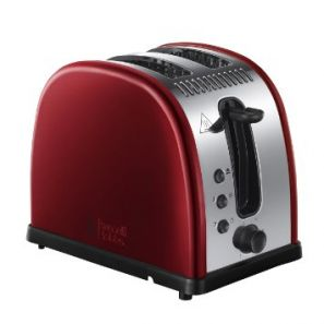 Russell Hobbs Legacy 2 Slice Toaster Red