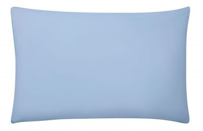 Sanderson 220 Thread Count Standard Pillowcase Pair - Dove Blue