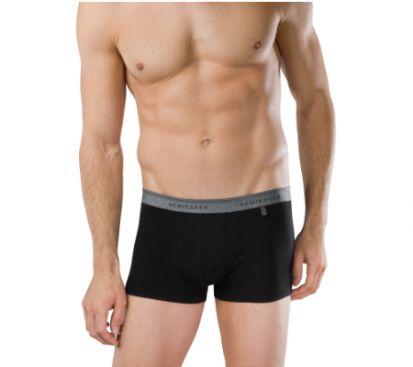 Schiesser 95/5 Shorts Black