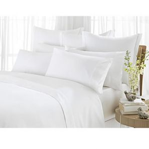 Sheridan 1000 Thread Count Superking Flat Sheet Vanilla